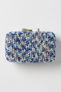 bow clutch- anthropologie