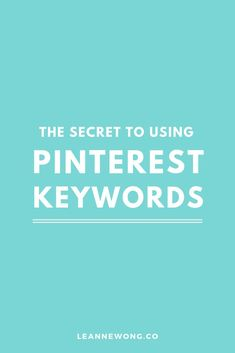 Keywords on Pinterest are words you use to let Pinterest know what your pins are about in order to rank them in Smart Feeds and search results. Adding niche specific keywords in your pin description and image helps Pinterest users find your content. Pinterest marketing, Pinterest marketing tips, Pinterest marketing strategies, Pinterest marketing business, Pinterest marketing it works, tailwind, pinterest marketing make money, Pinterest marketing ideas, entrepreneur, blogging
