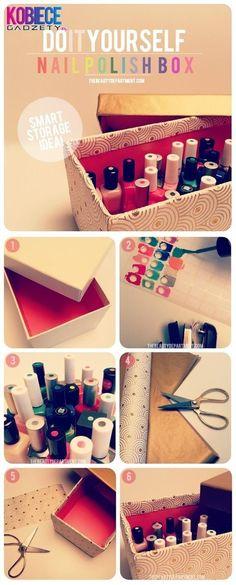 box for nailpolishes