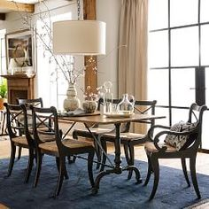 Dining Room | Williams-Sonoma -  sadly, the seat height is a little too high for me