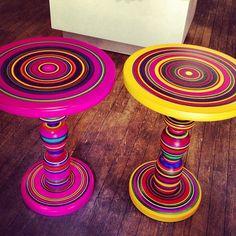 Mesas de Harto Diseño Mexicano en #TheShopsDT. #design #mexico