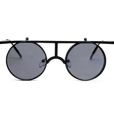 Currently inspired by: Dom Round Sunglasses Black on Fab.com