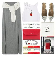 """Different"" by grozdana-v ❤ liked on Polyvore featuring Georg Jensen, Kate Spade, Lancaster, New Look, MANGO and Bling Jewelry"