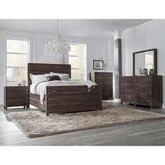 Torsten 6-Piece King Storage Bedroom Set