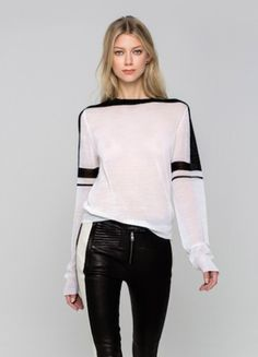 A.L.C. Spring 2013 RTW Striped Sweater Profile Photo