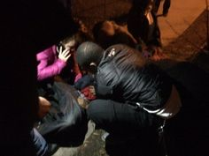 Five protesters have been shot by a group of four white males at the 4th precinct police department since last Sunday.