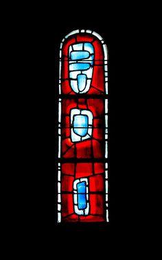 Raoul Ubac. Vitrail église de Varengeville-sur-mer.