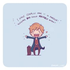 Can't believe Fantastic beasts came out almost a year ago (feel like I've been drawing Nifflers for decades ) How did I exist without drawing Nifflers? ✨✨ • #comic #funny #fantasticbeasts #fantasticbeastsandwheretofindthem #harrypotter #harrypotterart #harrypotterfanart #newtscamander #newt #scamander #cute #kawaii #chibi #instaart #niffler #instadaily #instaartist #illustrationoftheday #illustration #digitalart #digitalpainting