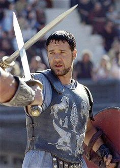 Maximus Decimus, a character with many of the qualities of Jerrod Somerset. Strong, honorable, willing to sacrifice himself for the good of others.
