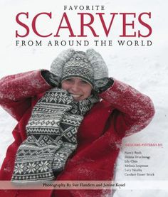 Here are 23 patterns for scarves from around the globe--including stylish traditional projects from Scandinavia, Eastern Europe, the British Isles, the Americas, and Asia. Pattern introductions provide a background of knitting techniques from that part of the world, including schematics and charts.