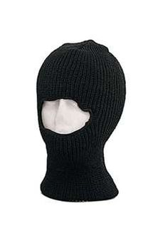 Black One Hole Face Mask ! Buy Now at gorillasurplus.com