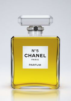 3D Product Visualization - Chanel N05 by Kalpesh Patil, via Behance