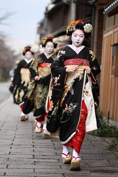 Geisha (芸者?), Geiko (芸子) or Geigi (芸妓) are traditional, female Japanese entertainers whose skills include performing various Japanese arts such as classical music and dance.