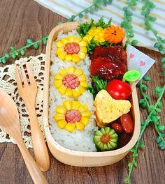 erinkoさんのお料理ひまわり弁当 #snapdish #foodstagram #instafood #food #homemade #cooking #japanesefood #料理 #手料理 #ごはん #おうちごはん #テーブルコーディネート #器 #お洒落 #ていねいな暮らし #暮らし #食卓 #フォトジェ #ひまわり弁当 #ひまわり #向日葵  #お弁当 #おべんとう #ランチ #おひるごはん #lunch #オベンタグラム #オベンター #obento