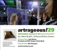Can't even believe that #Artrageous29 is NEXT MONTH! Who'll be there on March 28th? https://www.facebook.com/events/607680919332102/