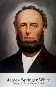 James White (1821-1881) was a preacher and co-founder of the Seventh-day Adventist Church.