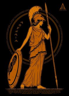 Athena Ancient Greek Goddess of Wisdom T-ShirtYou can find Ancient greece and more on our website.Athena Ancient Greek Goddess of Wisdom T-Shirt Greece Goddess, Greek Goddess Art, Greece Mythology, Greek Gods And Goddesses, Greek And Roman Mythology, Greek Goddess Tattoo, Ancient Goddesses, Greek Goddess Mythology, Minerva Goddess