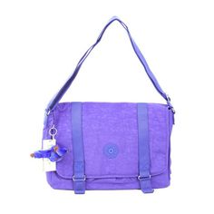 Kipling Aleron Messenger Bag Purple