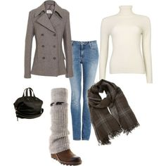 fall outfits polyvore | Gallery for Fall-fashion-2013-polyvore.  Just don't know if I could bring myself to wear leg Warmers...