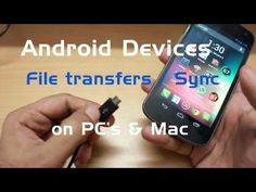 How to Transfer files from your Android phone to your PC / Mac computer - YouTube