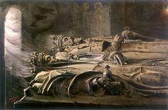 Leon Wyczolkowski ~ royal sarcophagus at Wawel
