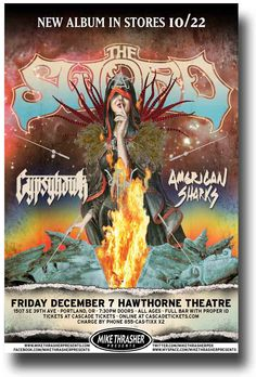 The Sword Poster Band Metal $9.84 Concert Apocryphon Tour