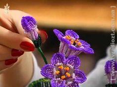 Амазонская лилия из бисера. Урок 1 - Материалы / Beaded amazon lily. Lesson 1 - Supplies - YouTube