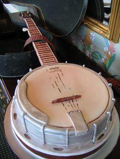 banjo cake #magpies