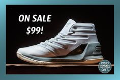 """The """"Sugar"""" Curry 3 is on sale for $99 shipped!"""