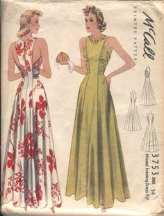 McCall 3753 I'd love to make this for myself--D #vintagesewingpatterns