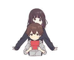What u looking aaat? Dibujos Anime Chibi, Cute Anime Chibi, Kawaii Anime Girl, Anime Art Girl, Anime Love, Gifs Kawaii, Chat Kawaii, Kawaii Chan, Sweet Pictures