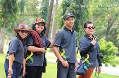 Having Fun @ Borobudur Temple
