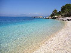 GREECE - CORFU ISLAND - KASSIOPI BATARIA BEACH/ΕΛΛΑΔΑ - ΚΕΡΚΥΡΑ - ΚΑΣΣΙΟΠΗ ΠΑΡΑΛΙΑ ΜΠΑΤΑΡΙΑ