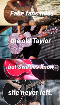 Fake fans miss the old Taylor, but Swifties know she never left! I love this!