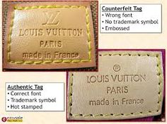 Image result for how to spot a fake LOUIS VUITTON
