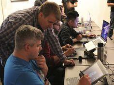 Mold3D Academy 3D printing workshop with Ian Joyner