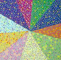 Double Sided Origami Paper - Plain & Floral  Patterns II - 20 Sheets