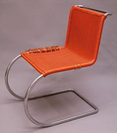 1927_'MR10′ chair by ludwig mies van der rohe & lilly reich | MDBA