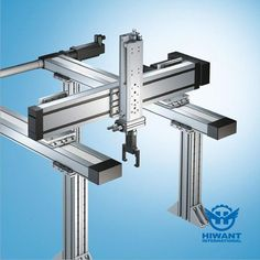 Hiwant accepts customized industrial aluminium profile for mechanical framework.