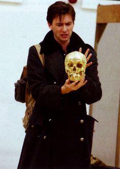 David Tennant at the rehearsal for Hamlet, RSC, 2008 Doctor Who 10, 10th Doctor, Michael Sheen, David Tennant Hamlet, Barty Crouch Jr, John Mcdonald, John Barrowman, Broadchurch, Torchwood