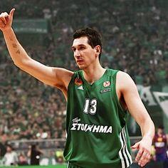 ''Ο Διαμαντίδης που παίζει για πέντε!'' 02/06/14 Tank Man, Pride, Basketball, Gym, Sports, Mens Tops, Faith, Heart, Green