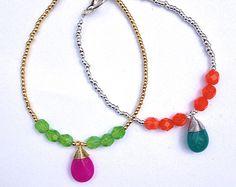 Silk Tassel Bracelets Friendship Bracelets Summer por Annyse