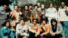 Mexican Mafia members at a funeral during the 1970s. #streetgangs #gangs #mexicanmafia