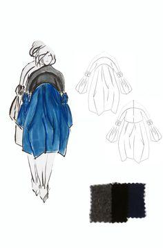 Fashion Sketchbook - fashion illustration; dress sketches; fashion portfolio // Ashley Barre