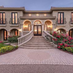 Classic House Design, Dream Home Design, Modern House Design, Model House Plan, My House Plans, Dream Mansion, Spanish Style Homes, Bungalow House Design, Castle House