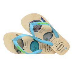 9e3f6b102581c Havaianas Conservation International Flip Flops Beige Blue - 11 12 Rubber  Flip Flops