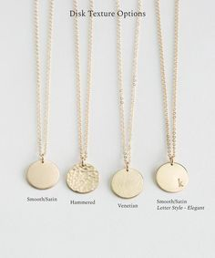 Ultimate Stainless Steel Gold Tiny Disk Necklace Personalized A-z Initial Letter Engraved Monogram Coin Disc Necklace - Buy Monogram Necklace In Stainless Steel,A-z Initial Letter Engraved Monogram Coin Disc Necklace,Stainless Steel Gold Tiny Disk Gold Disc Necklace, Monogram Necklace, Silver Necklaces, Dainty Jewelry, Gold Jewelry, Jewelry Accessories, Jewelry Design, Jewellery, Accesorios Casual