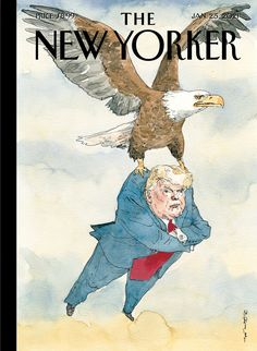 The New Yorker, New Yorker Covers, Donald Trump, Political Art, Political Cartoons, Trump Cartoons, Winnie The Pooh, Drinking Bird, Visual Metaphor