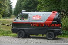 1989 Bedford Rascal with A Team Styling - Rally Veteran - Spares Included