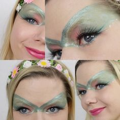 Fantasy Make-up - Spring Fairy ♥ In Love With Life ♥